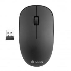 NGS Easy Alpha Raton Inalambrico USB - 1000dpi - 3 Botones - Uso Ambidiestro - Color Negro