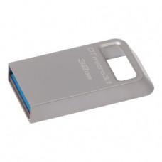 Kingston DataTraveler Micro Memoria USB 32GB - USB 3.1 Gen 1 - 100 MB/s en Lectura - Diseño Metalico (Pendrive)