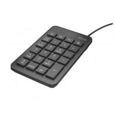 Trust 22221 Teclado Numerico USB Xalas Negro