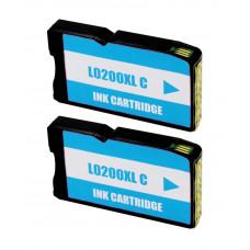 Lexmark 200XL Cyan (14L0198) PACK 2 UNIDADES