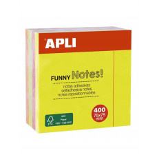 Notas Adhesivas  75x75mm 400H Apli