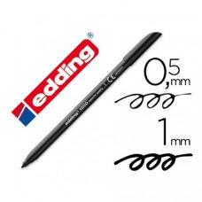 Rotulador Edding 1200 Superior quality negro ( nº1)